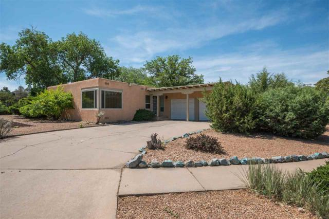 100 La Placita Circle, Santa Fe, NM 87505 (MLS #201900737) :: The Bigelow Team / Realty One of New Mexico