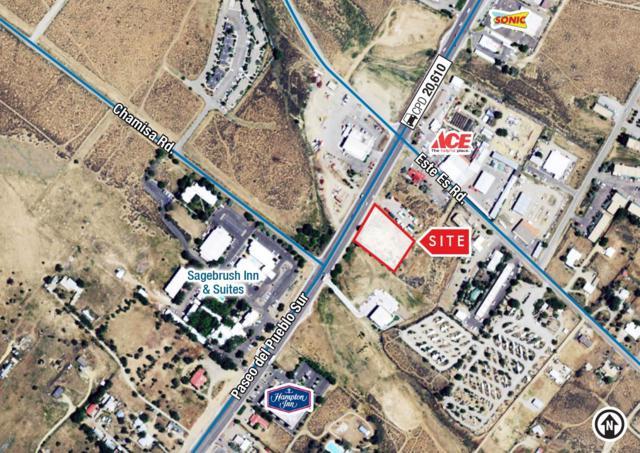 Este Es. Rd. & Paseo Del Pueblo Sur, Taos, NM 87571 (MLS #201900857) :: The Bigelow Team / Realty One of New Mexico