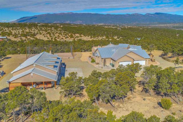 76 Via Sedillo, Tijeras, NM 87059 (MLS #201901072) :: The Desmond Group