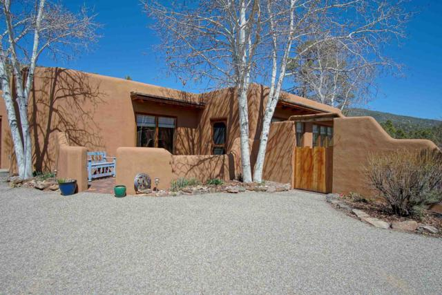 97B La Barbaria Road, Santa Fe, NM 87505 (MLS #201901082) :: The Bigelow Team / Realty One of New Mexico