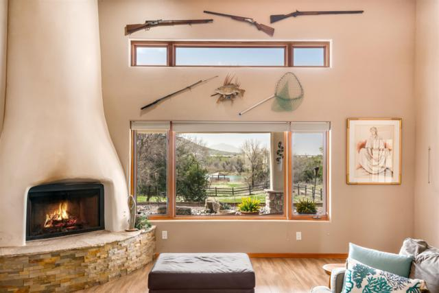 54 Rito Guicu, Santa Fe, NM 87507 (MLS #201901505) :: The Desmond Group