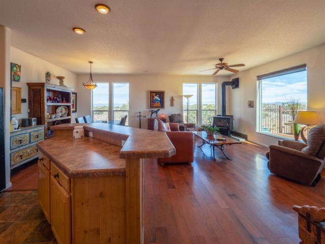 351 Red Rock, Cerrillos, NM 87010 (MLS #201901511) :: The Desmond Group
