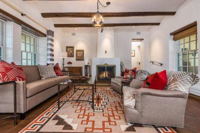 3961 & 3963 Old Santa Fe Trail, Santa Fe, NM 87505 (MLS #201901518) :: The Desmond Group