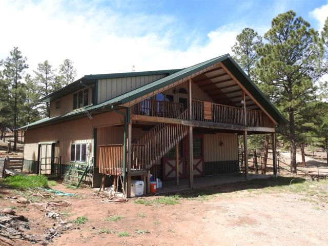 84 La Cueva Road, Glorieta, NM 87535 (MLS #201901641) :: The Desmond Group