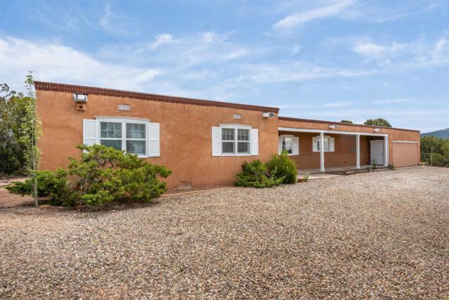 1101 Old Taos Highway, Santa Fe, NM 87501 (MLS #201902010) :: The Desmond Group
