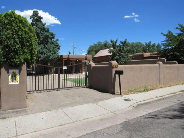 549 Onate Place, Santa Fe, NM 87501 (MLS #201903195) :: The Very Best of Santa Fe