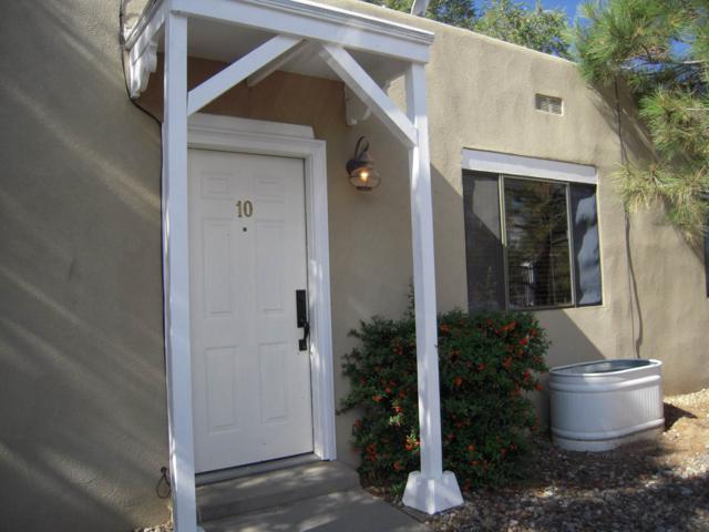 1509 Agua Fria Unit 10 Unit 10, Santa Fe, NM 87505 (MLS #201903351) :: The Desmond Group