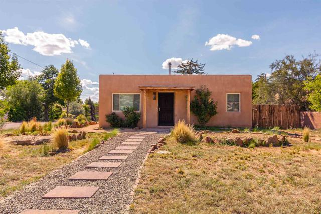 1214 Galisteo, Santa Fe, NM 87505 (MLS #201903646) :: The Desmond Group