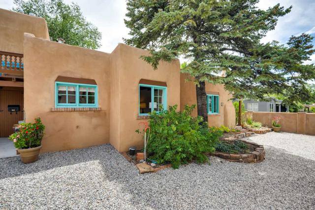 825 Waldo Street, Unit 4, Santa Fe, NM 87505 (MLS #201903733) :: The Desmond Group
