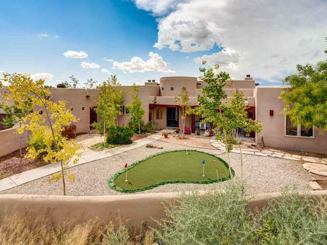 102 Rito Guicu, Santa Fe, NM 87507 (MLS #201904396) :: The Very Best of Santa Fe