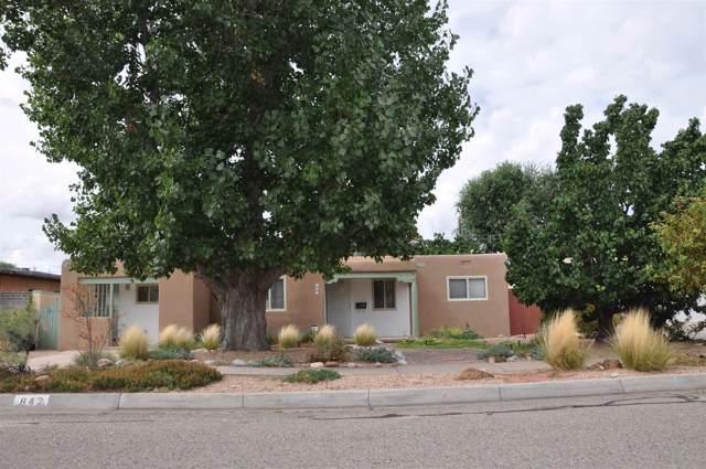 842 Rio Vista, Santa Fe, NM 87501 (MLS #201904565) :: The Very Best of Santa Fe