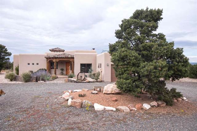 1655 Deer Canyon Trail, Mountainair, NM 87036 (MLS #201904673) :: The Desmond Group