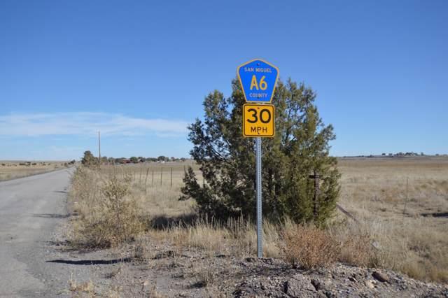 TBD Cr A6, Las Vegas, NM 87701 (MLS #201904770) :: The Desmond Group