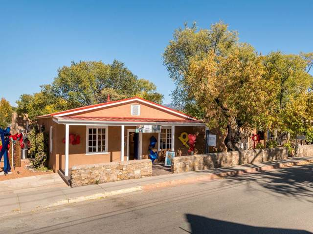 409 Canyon Road, Santa Fe, NM 87501 (MLS #201904841) :: The Very Best of Santa Fe