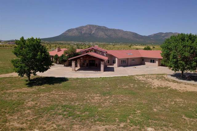 247A, 247B E. Frost Road, Edgewood, NM 87015 (MLS #201904950) :: The Very Best of Santa Fe