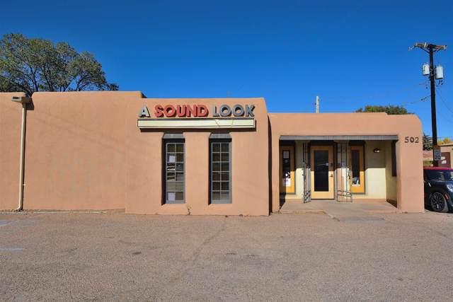 502 Cerrillos Rd, Santa Fe, NM 87501 (MLS #201905034) :: The Desmond Group