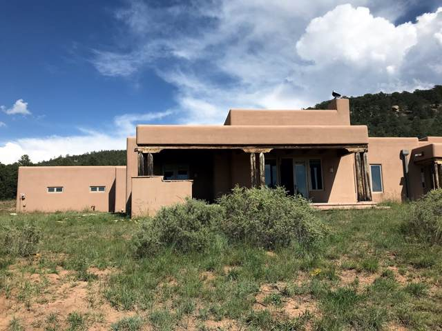 389 Glorieta Mesa, Glorieta, NM 87535 (MLS #201905153) :: The Very Best of Santa Fe