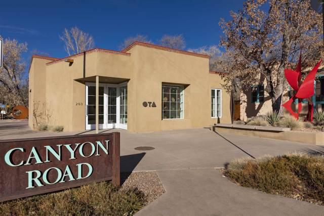 203 Canyon Road, Santa Fe, NM 87501 (MLS #201905227) :: The Desmond Group