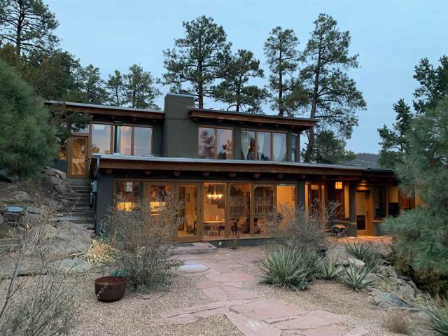 57 Mountain Top Road, Santa Fe, NM 87505 (MLS #201905302) :: The Desmond Group