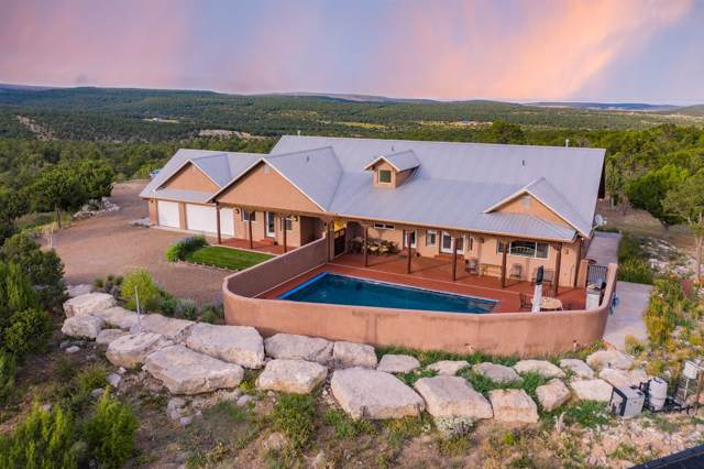121 Forest Road 321, Tajique, NM 87016 (MLS #201905475) :: The Very Best of Santa Fe