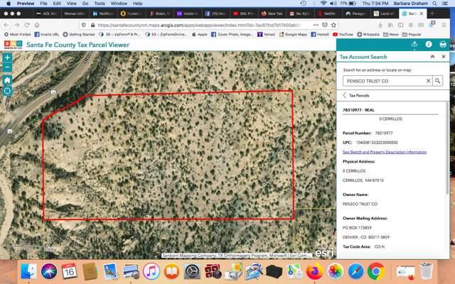 18 Acres Cerrillos, Off Nm 14 87010, Cerrillos, NM 87010 (MLS #202000216) :: The Desmond Group