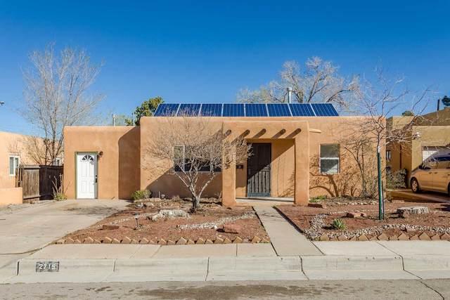 2715 Santa Monica Ave, Albuquerque, NM 87106 (MLS #202000872) :: The Desmond Hamilton Group