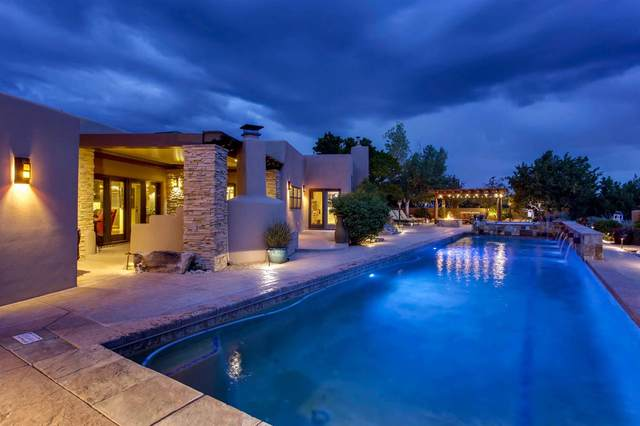 19 Estrada Redonda, Santa Fe, NM 87506 (MLS #202001645) :: Berkshire Hathaway HomeServices Santa Fe Real Estate