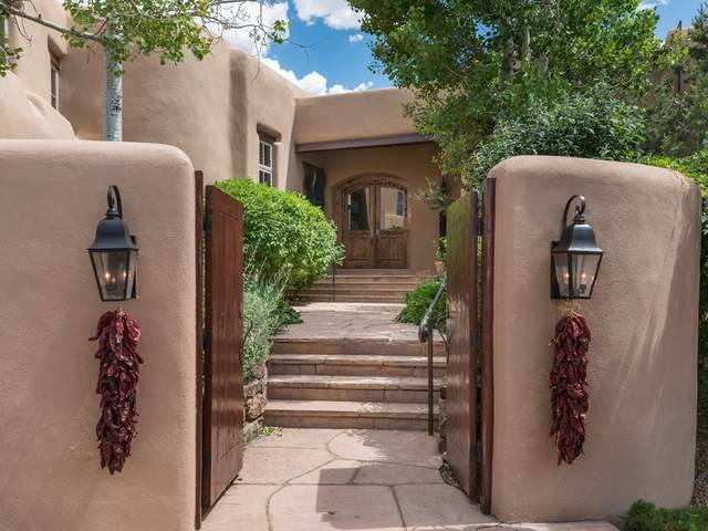 8 Vista Tesuque, Santa Fe, NM 87506 (MLS #202001716) :: The Desmond Hamilton Group