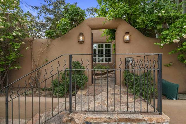 1136 Canyon Road, Santa Fe, NM 87501 (MLS #202001794) :: Berkshire Hathaway HomeServices Santa Fe Real Estate