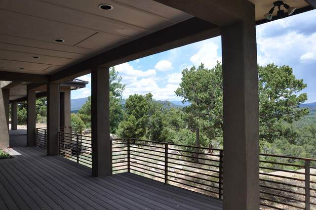 43 The Cliff View, Glorieta, NM 87535 (MLS #202002245) :: Berkshire Hathaway HomeServices Santa Fe Real Estate
