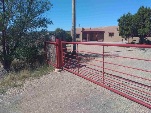 140 County Road B-41-F, Ribera, NM 87560 (MLS #202002353) :: The Desmond Hamilton Group