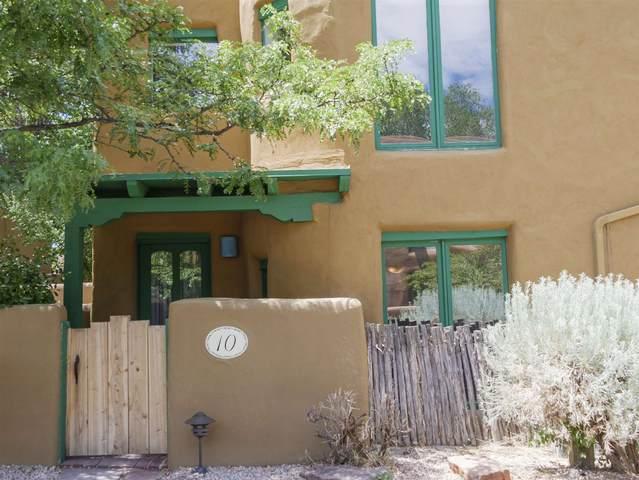 624 Galisteo Unit 10, Santa Fe, NM 87505 (MLS #202002399) :: The Desmond Hamilton Group