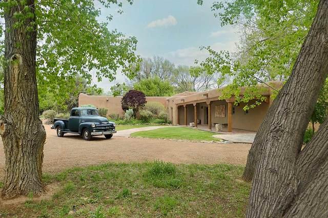 6 Magdalen, Galisteo, NM 87540 (MLS #202002823) :: The Very Best of Santa Fe