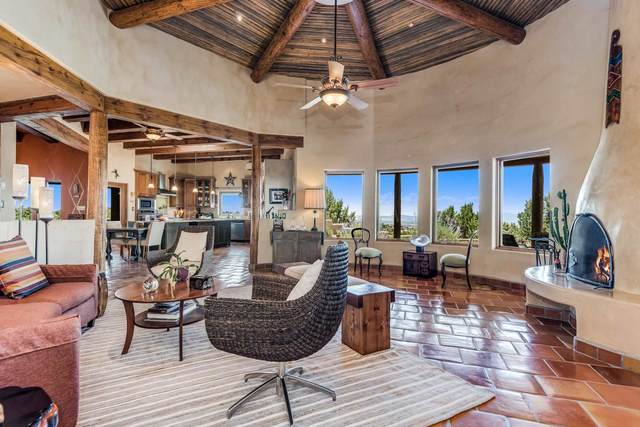 11 Vista Bella, Lamy, NM 87540 (MLS #202002837) :: The Very Best of Santa Fe