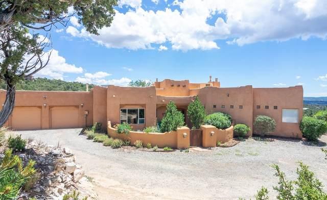 26 Angeles Vista Circle, Sandia Park, NM 87047 (MLS #202002994) :: The Very Best of Santa Fe