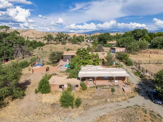 554 El Llano Road, Santa Cruz, NM 87532 (MLS #202002996) :: The Very Best of Santa Fe