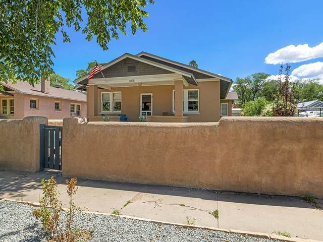 653 Don Gaspar Avenue, Santa Fe, NM 87505 (MLS #202003028) :: The Desmond Hamilton Group