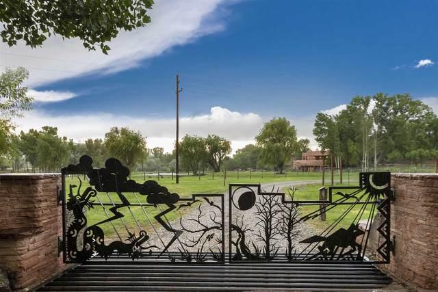 345 Lower Ranchitos, Taos, NM 87571 (MLS #202003103) :: The Desmond Hamilton Group