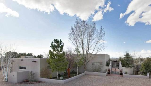 499 Camino Pinones, Santa Fe, NM 87505 (MLS #202003123) :: The Very Best of Santa Fe