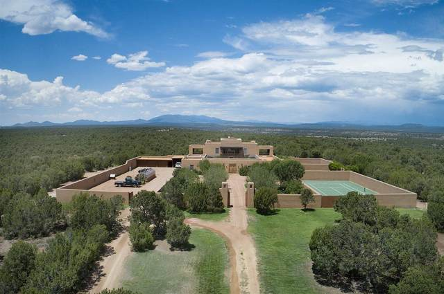 600 Camino Del Obispo Res, Lamy, NM 87540 (MLS #202003362) :: The Very Best of Santa Fe