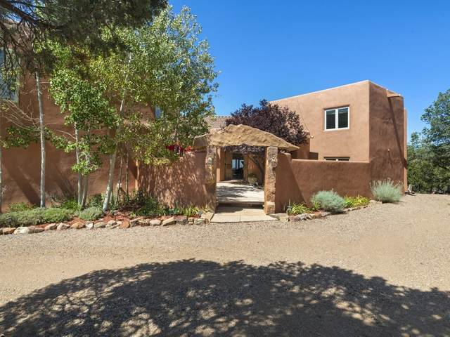 1500 Wilderness Gate Rd, Santa Fe, NM 87505 (MLS #202003848) :: Summit Group Real Estate Professionals