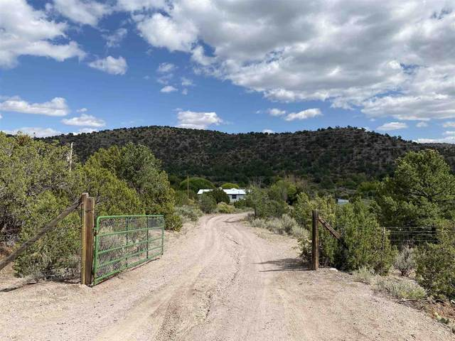 100 County Road 341, Ojo Caliente, NM 87549 (MLS #202003931) :: The Very Best of Santa Fe