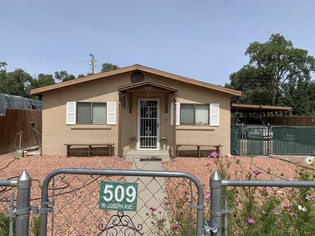 509 W Joseph Avenue, Estancia, NM 87016 (MLS #202004000) :: Summit Group Real Estate Professionals