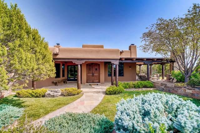8 S Star Gazer, Santa Fe, NM 87506 (MLS #202004018) :: Stephanie Hamilton Real Estate
