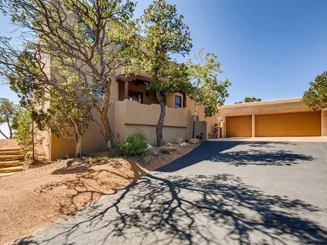 71 Apache Canyon, Santa Fe, NM 87505 (MLS #202004079) :: The Very Best of Santa Fe