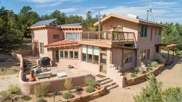 58AB Arroyo Salado, Santa Fe, NM 87508 (MLS #202004378) :: Summit Group Real Estate Professionals