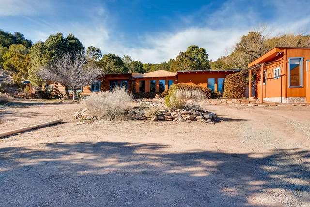 5 Buffalo Canyon, Santa Fe, NM 87505 (MLS #202004574) :: Summit Group Real Estate Professionals