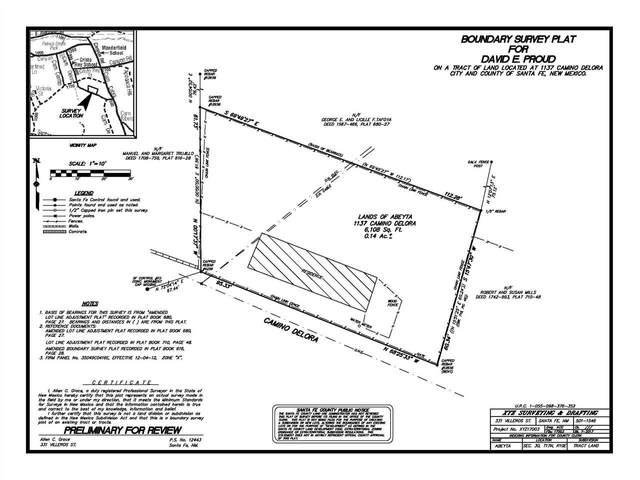 1137 Camino Delora, Santa Fe, NM 87505 (MLS #202005001) :: Neil Lyon Group   Sotheby's International Realty