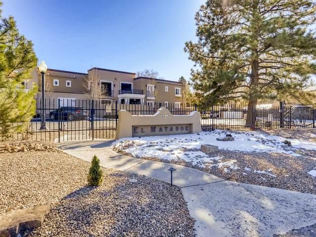 663 Bishops Lodge Rd Unit 22/Bldg B, Santa Fe, NM 87501 (MLS #202005018) :: Summit Group Real Estate Professionals
