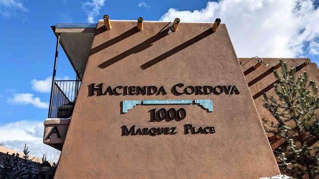 1000 Marquez Pl A-6, Santa Fe, NM 87501 (MLS #202005034) :: Summit Group Real Estate Professionals